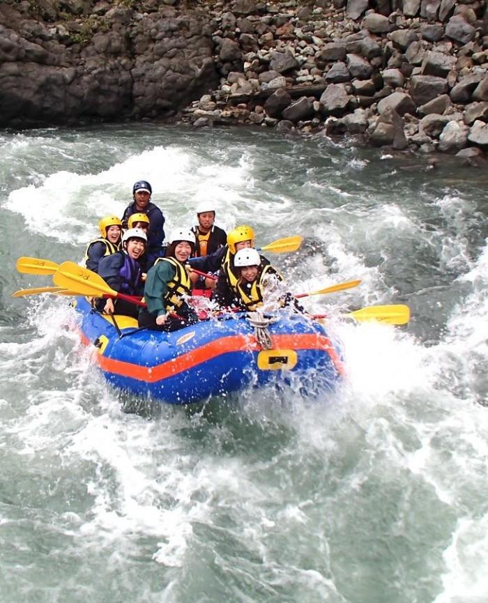 Mt. Fuji rafting